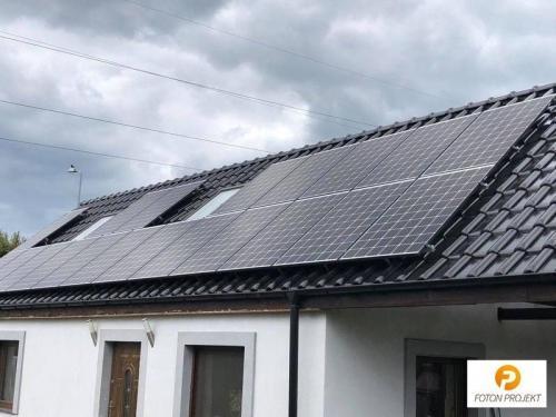 panele fotowoltaiczne na dachu 14