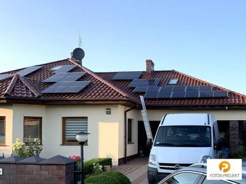 panele fotowoltaiczne na dachu 4
