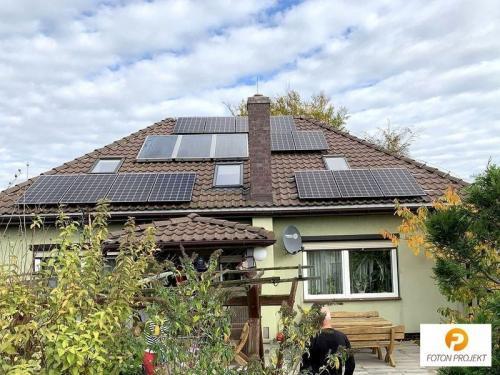 panele fotowoltaiczne na dachu 7